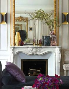 beautiful ornate mirror statement over the fireplace also love it all hooftlaan pinterest mantle and rh