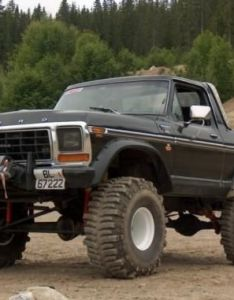 Black bronco topless white steel wheels balloon tires and winch also rh pinterest