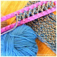 Loom knit scarf! | Share Your Craft | Pinterest | Scarves ...