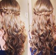 hoco hair styles