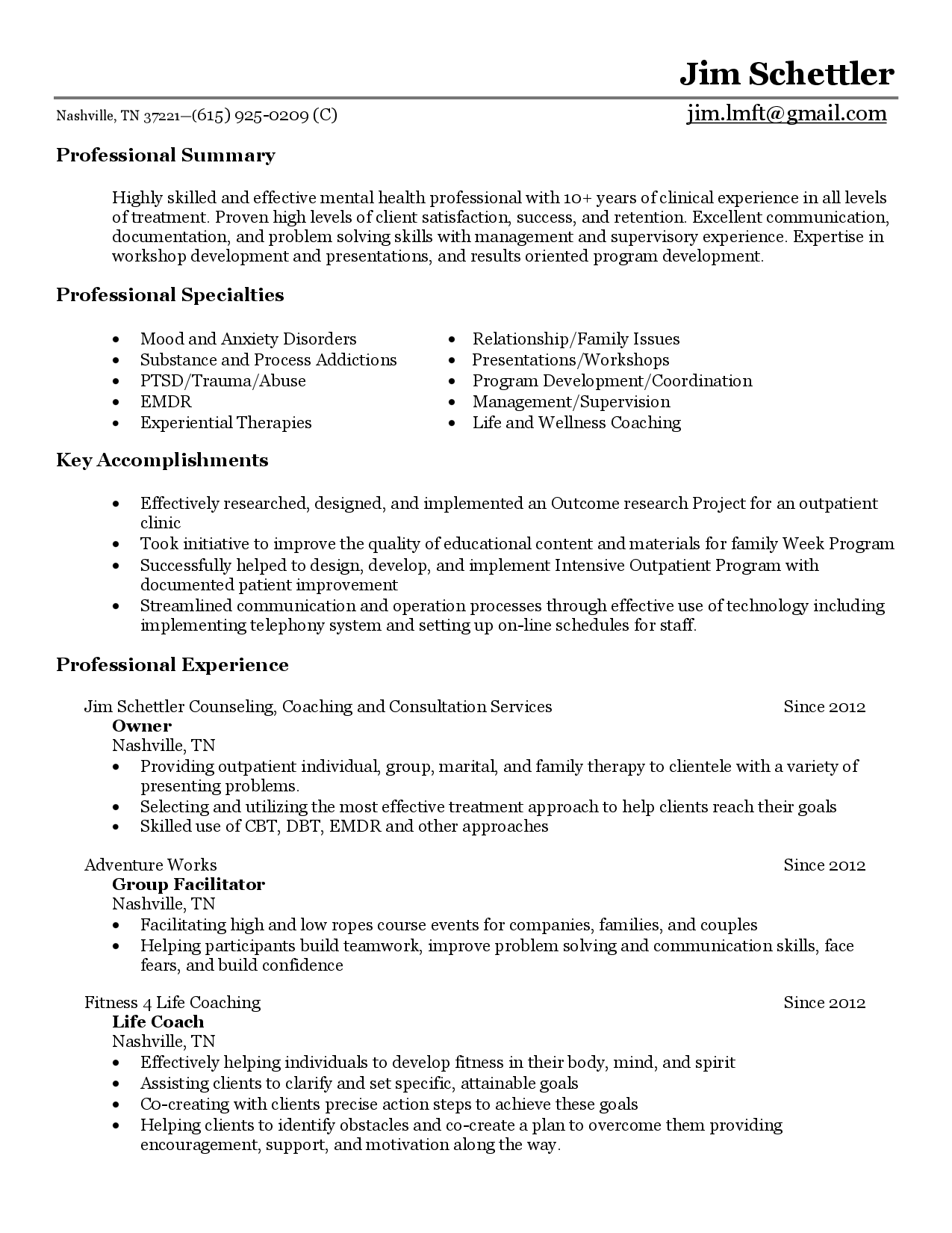 Wellness Coach Cover Letter - All New Resume Examples ...