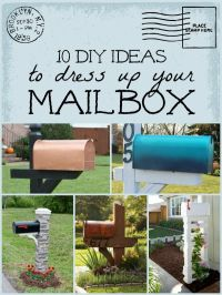 Mailbox Ideas on Pinterest | Country Mailbox, Mailbox Post ...