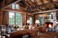 Mountain Home | Plaid pattern, Living room chairs and ...