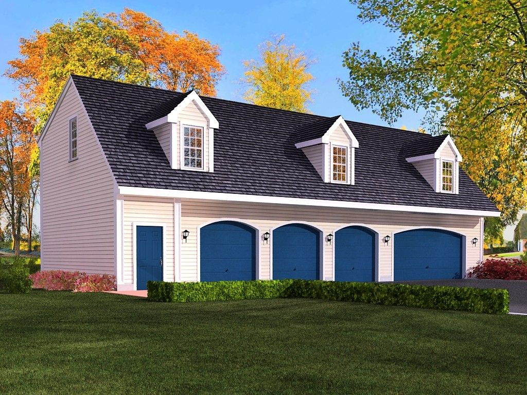 Cabin Garage Plans Part - 38: 4 Car Garage Cabin Plans With Living Quarters Google Search