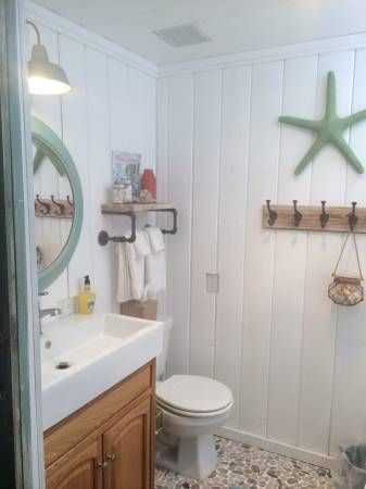 Beach Cottage Decor Ideas For Your Mobile Home You're Going To