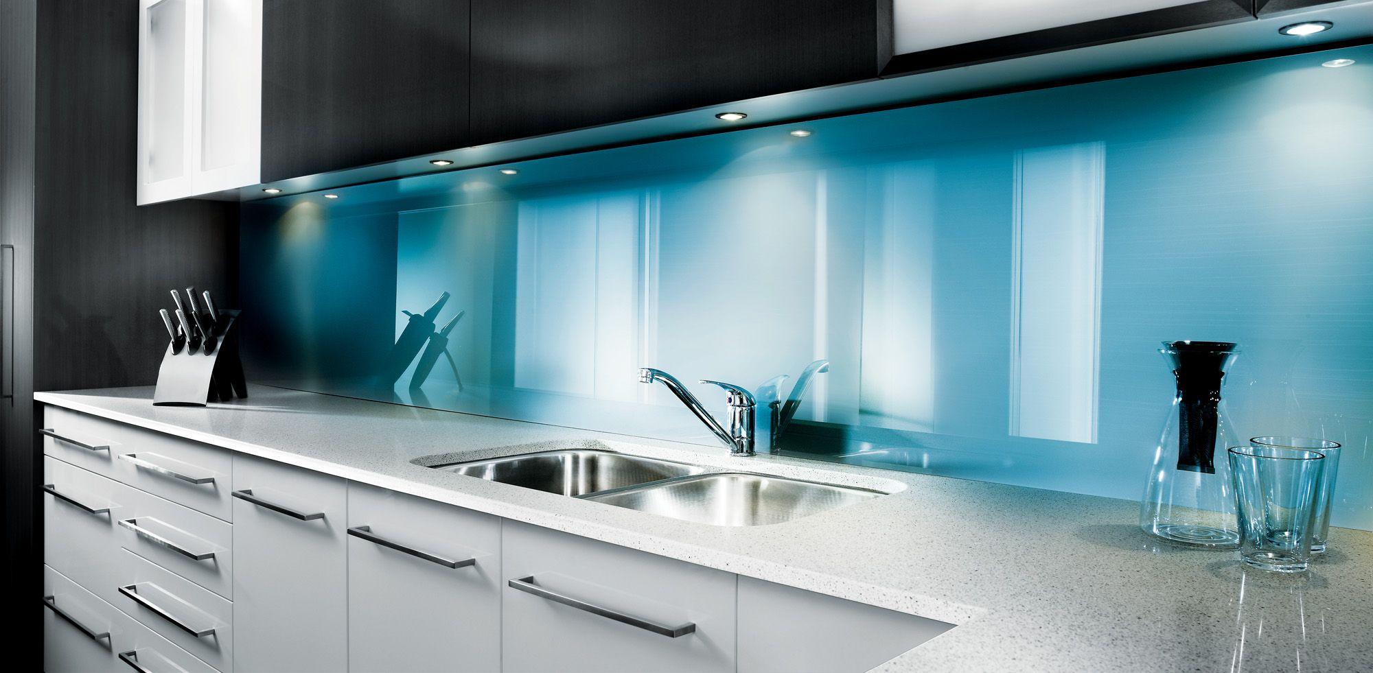 kitchen whiteboard teal chairs lustrolite blue atoll slab architecturalceramics
