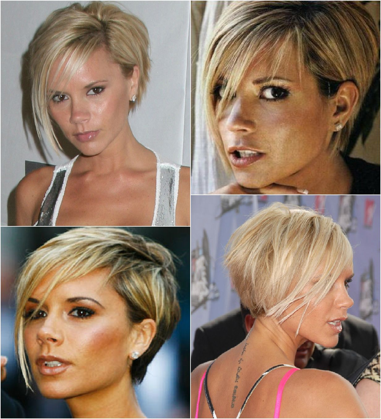 Spice Girls Hairstyles Victoria Beckham Short Hair I Like
