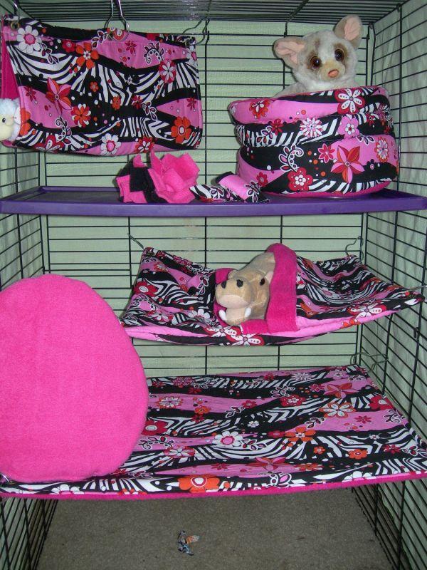 8 Pc Ferret Bedding Cage Set Naturalfancies