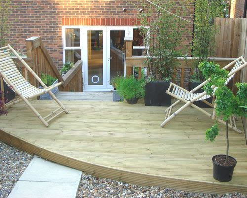 Decking Services North London Greenfellas Garden Decking