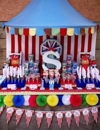 Colorful Circus | Carnival parties, Circus party and Big top