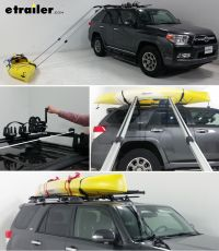 Easily load a kayak from the ground onto your roof rack by ...