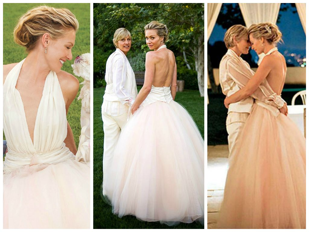 Portia De Rossi - Iconic Wedding Dresses