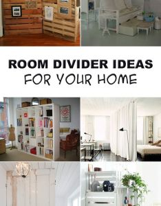 room divider ideas for your home also studio apartment and rh pinterest
