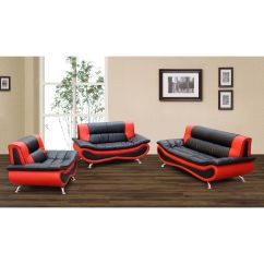 Alicia Two Tone Modern Sofa And Loveseat Set How To Make A Table Top This Ultra Comfortable Includes