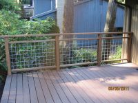 Do-it-yourself deck railing is done! | Deck railings ...