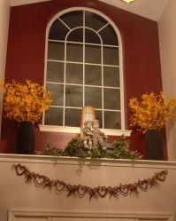 Window Ledge Decor | Foyer Ledge, Ledge under the front ...