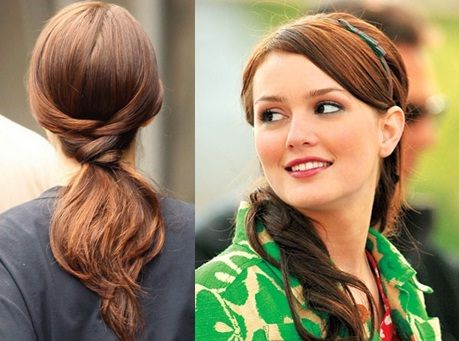 How To Do Blair Waldorf's Ponytail Hairstyle? Leighton Meester