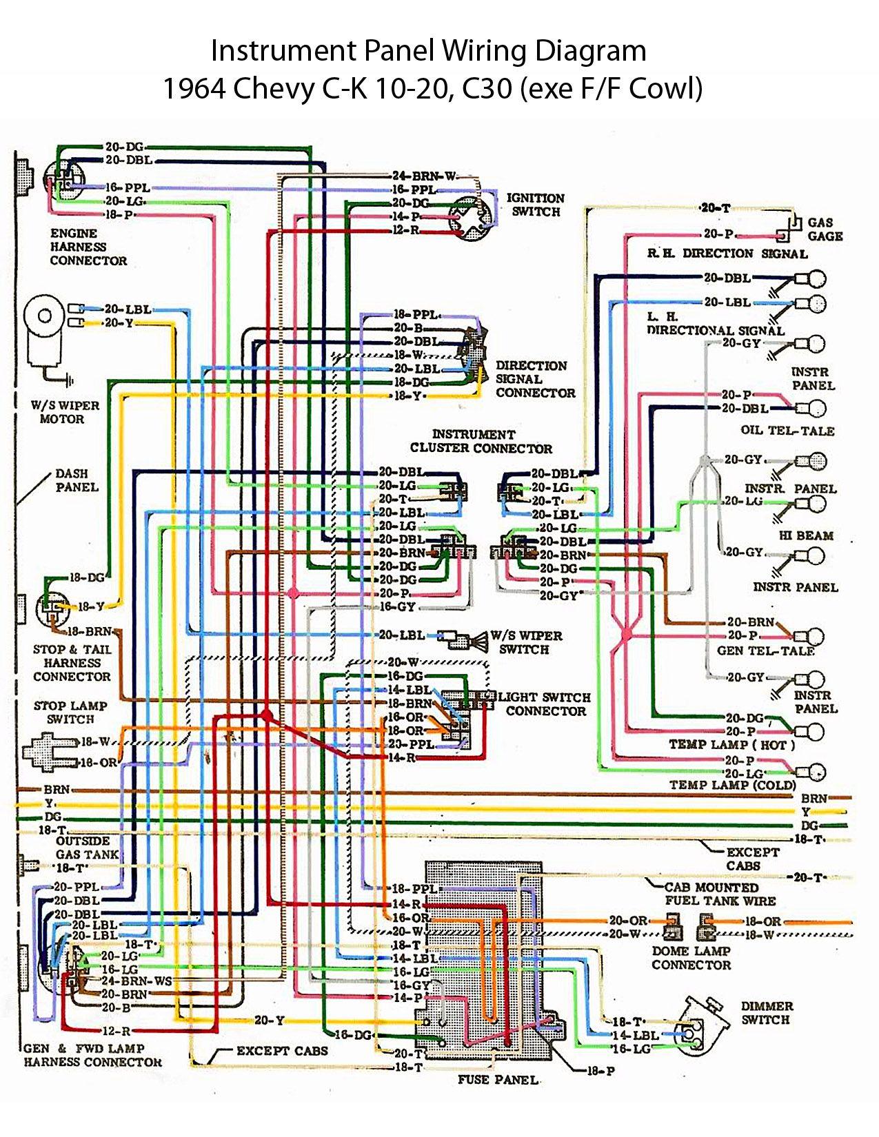 hight resolution of 29f907bf017db832106977dbff5b5b31 64 chevy c10 wiring diagram chevy truck wiring diagram 64 2004 silverado tail light wiring