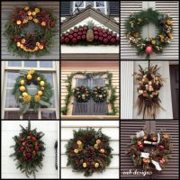 Colonial Williamsburg Christmas Wreaths | COLONIAL DECOR ...