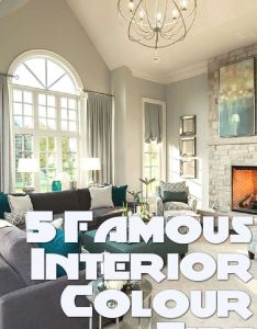 famous interior designers share their best colour tips also rh pinterest
