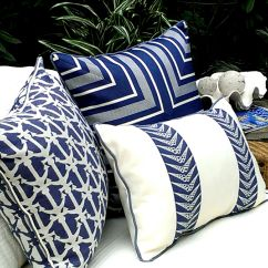 Beach Themed Sofa Pillows Cream Fabric Corner Uk Karen Robertson Royalty Collection Outdoor