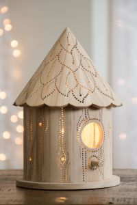 Tree Trunk - Birdhouse Night Light - Woodland Nursery ...