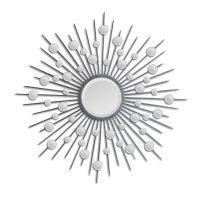 Ren-Wil Starburst Mirror in Silver - MT798 | Decorative ...