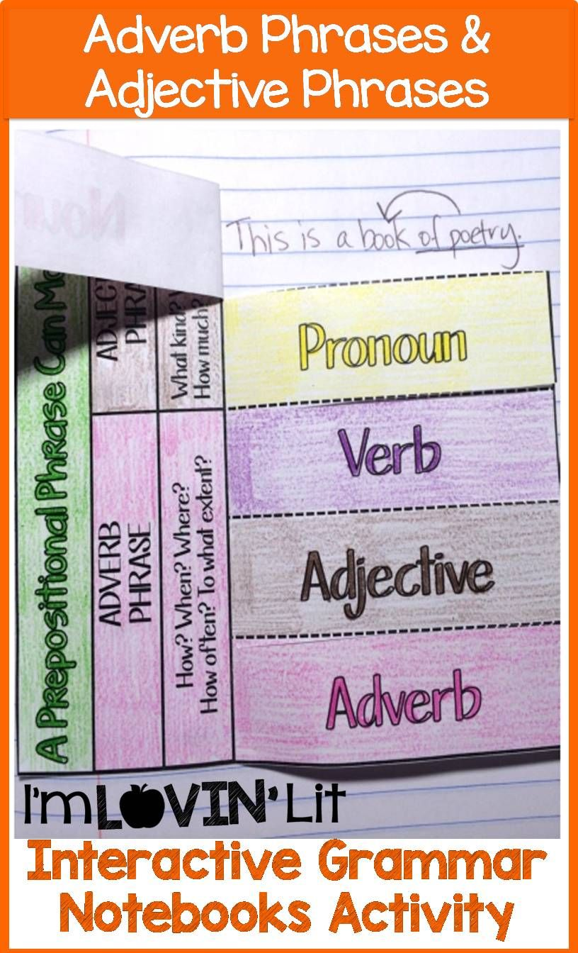 Adjectival Phrases Worksheet Grade 4