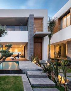 Villa   modern private house in luxury suburb of rabat moroccoarchitects elouardighi mounir also follow vomos for the best real estate on instagram rh pinterest