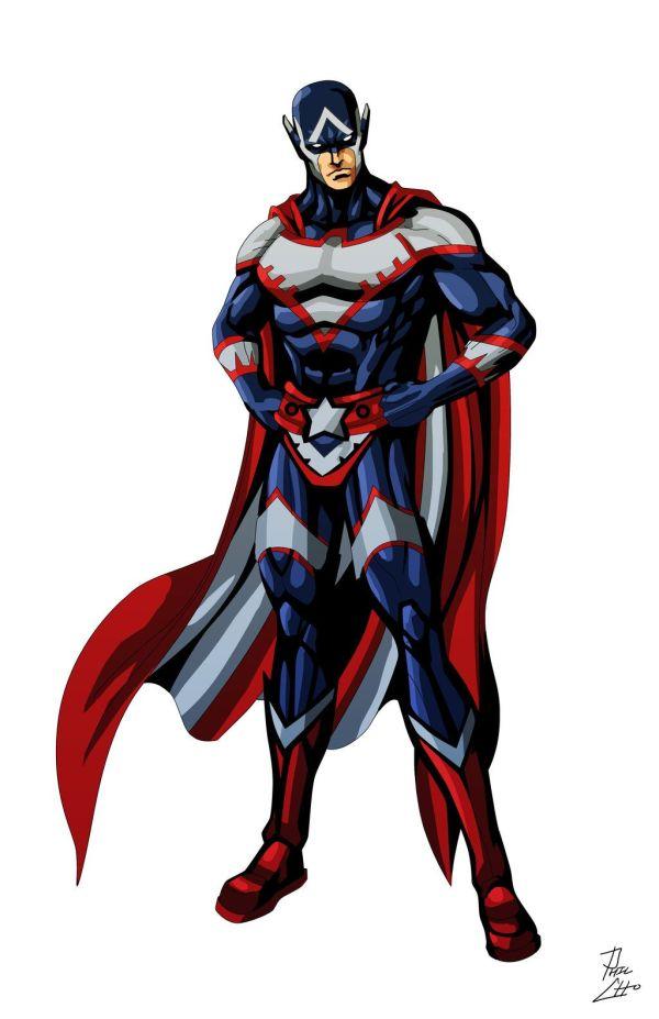 deviantART OC Superhero Characters