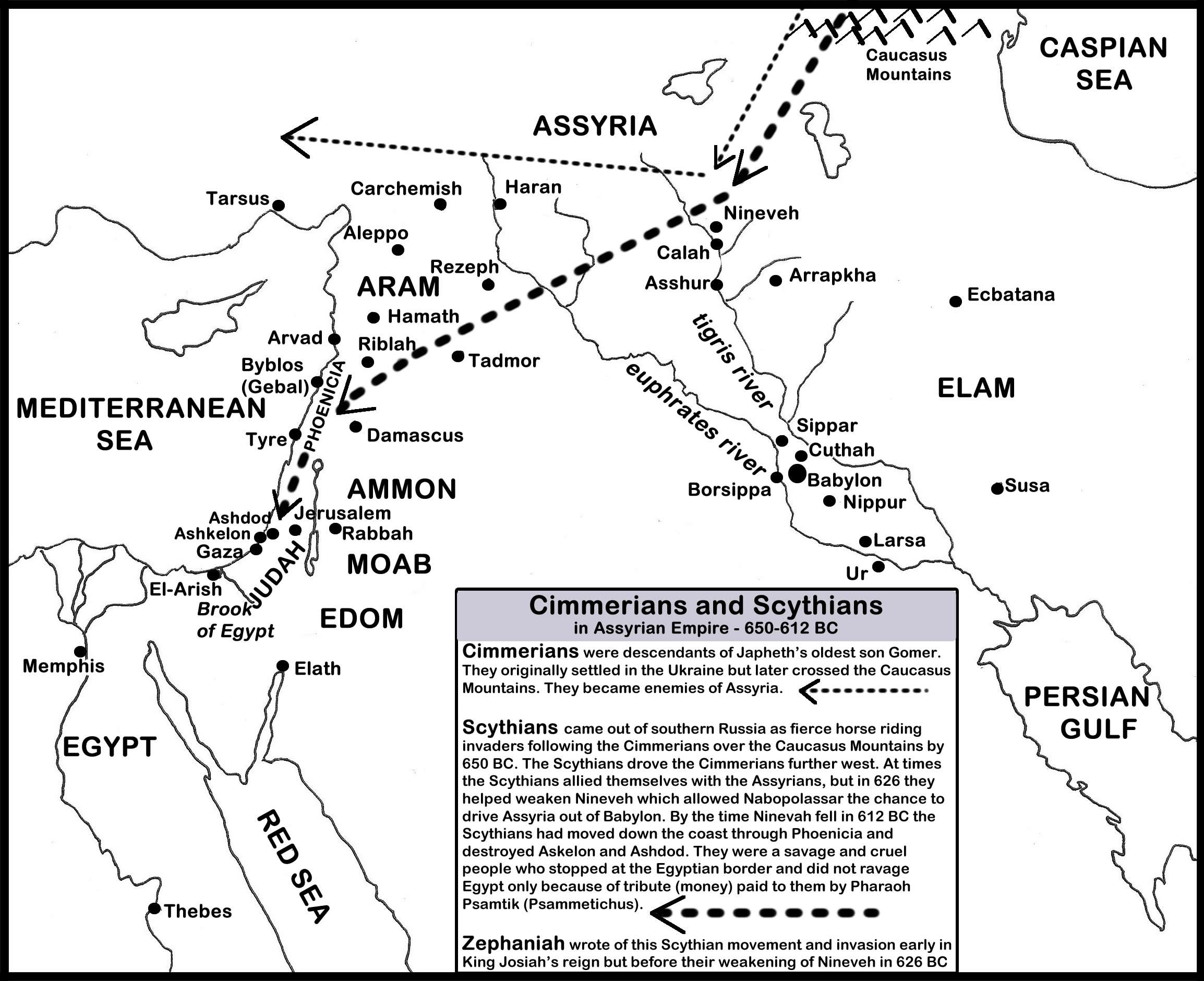 Power Shift Between Empires