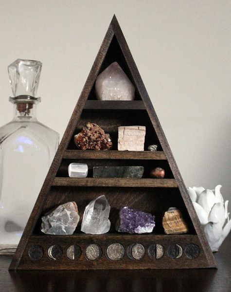 Rock And Book Shelf