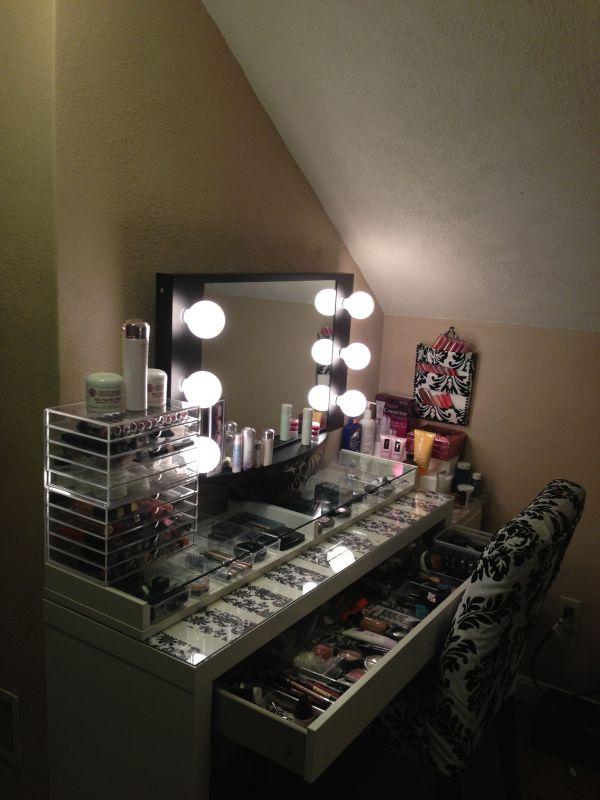 Storage Put Ikea Ekby Gruvan Shelf Top Of