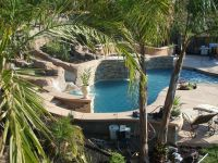 Pools Built On A Slope | Northern CA owner/build- 98.5% ...