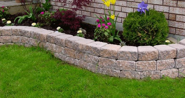 Bed Wall Flower L Retaining
