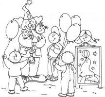 Zirkus 18 Ausmalbilder   Birthday Surprise   Pinterest ...