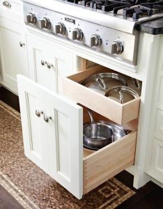 Original design for pots and lids but  narrower cab with deeper insert cannisters good ideasstorage also rh pinterest