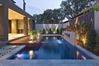 Contemporary Backyard with Asian Themes on Drake Street ...