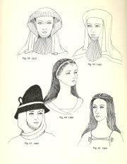 hairstyles in middle ages