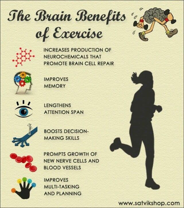 The brain benefits of exercise   Fitness   Pinterest ...
