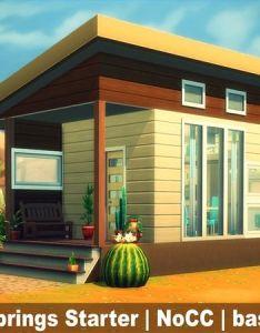Zliva   oasis springs starter house also sims pinterest rh