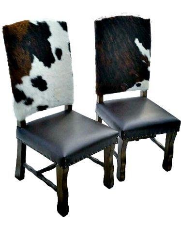 Cowhide Dining Chair  Bar Stool  Counter Stool  Dining