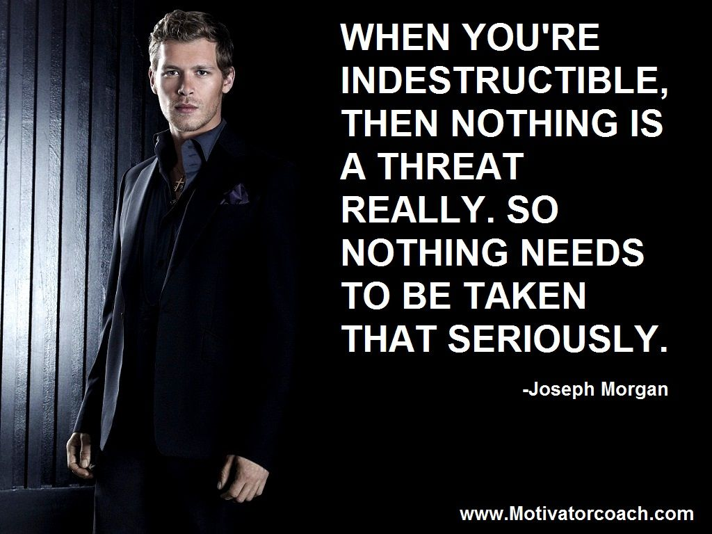 Klaus Mikaelson Quotes Klaus Mikaelson Quotes In Originals Tv Picture