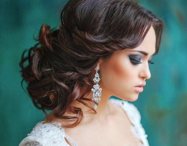 Creative And Elegant Wedding Hairstyles For Long Hair Updo