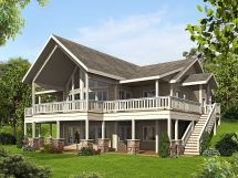 Plan 35511gh Mountain House With Four Bedrooms