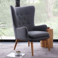 Modern Chairs. Wingback Chair. Living Room Ideas. # ...