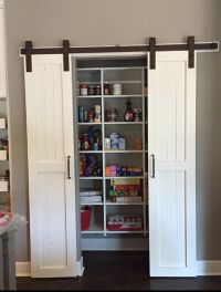 Sliding Barn Door Style Pantry Doors Door Only by