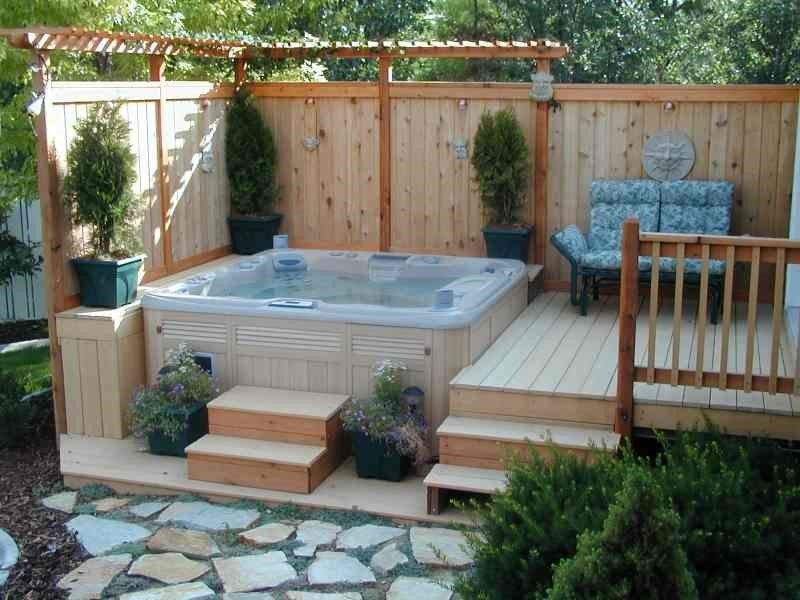 25 Best Ideas About Hot Tub Garden On Pinterest Hot Tub Deck