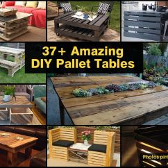 Diy Pallet Sofa Table Instructions Rattan Corner Next Day Delivery One Of The Most Used Materials In Projects Are Wooden