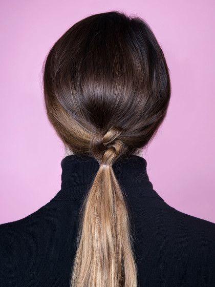 Jetzt Braucht Ihr Nur Noch Ein Kleines Haargummi Mit Dem Ihr